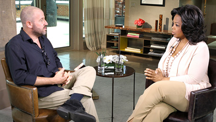 James Frey and Oprah Winfrey