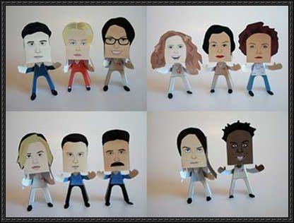 OITNB paper toys
