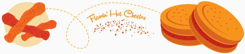 cheetos oreos