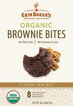 Erin Bakers Organic Brownie Bites