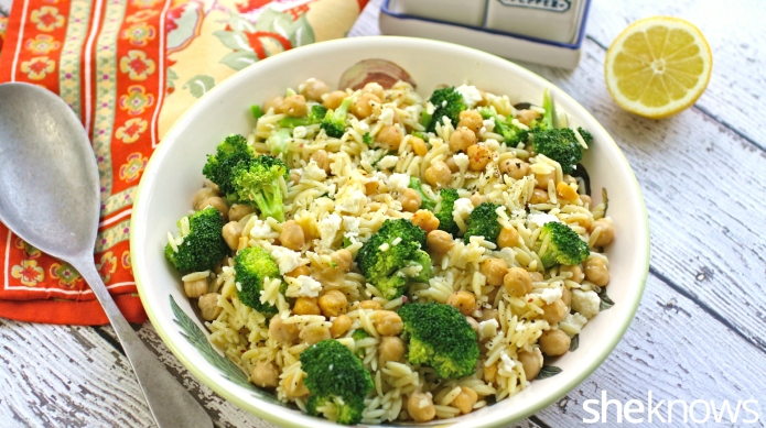 Meatless Monday: Orzo salad packs a