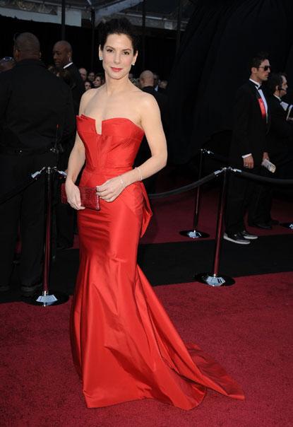 Sandra Bullock at Oscars 2011