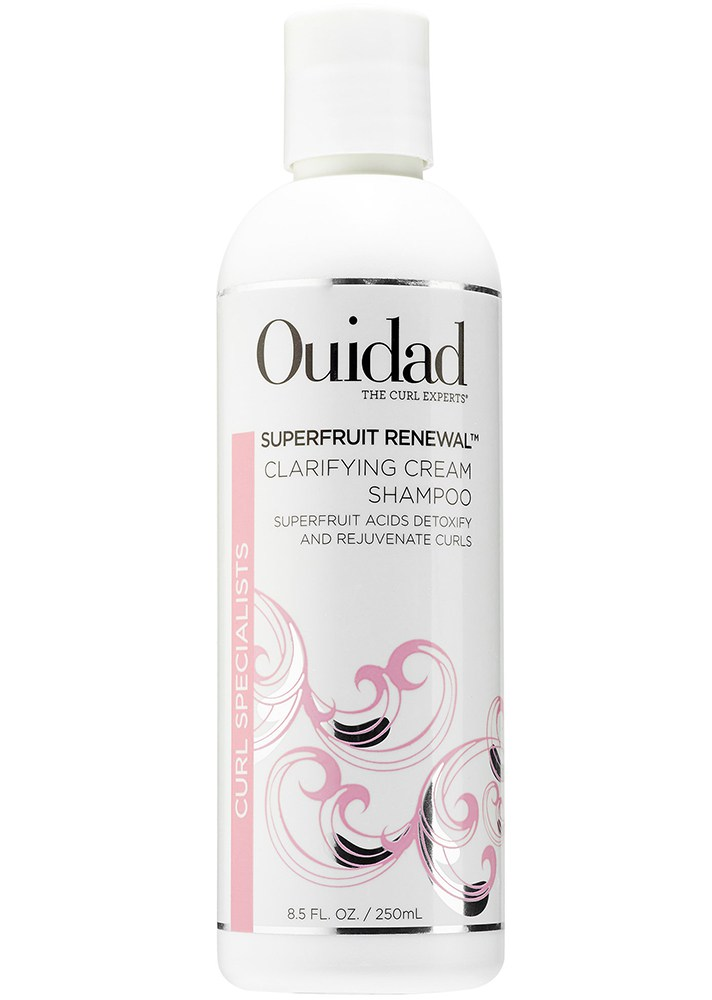 Best Shampoos That Actually Smooth Frizzy, Curly Hair: Ouidad Superfruit Renewal Clarifying Shampoo | Summer Hair Care 2017