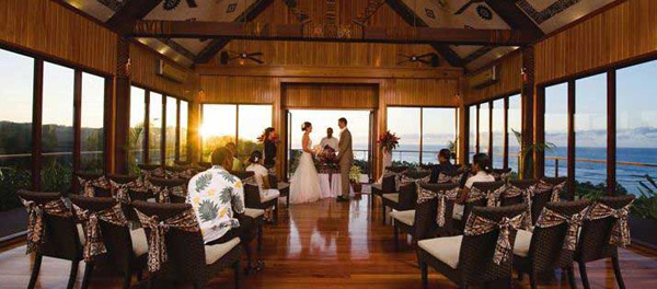A wedding at Outrigger on the Lagoon, Fiji