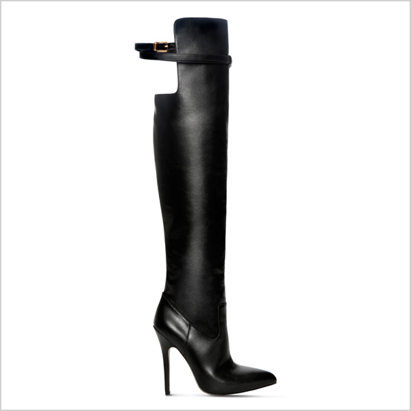 Over-The-Knee Boot in Black
