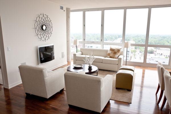 Oversize or floor-to-ceiling windows