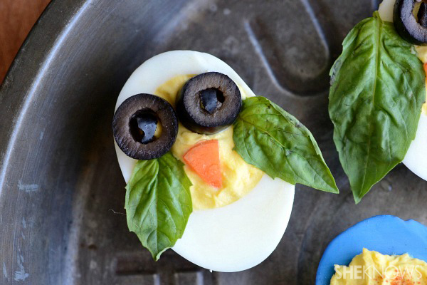 Fun with deviled eggs