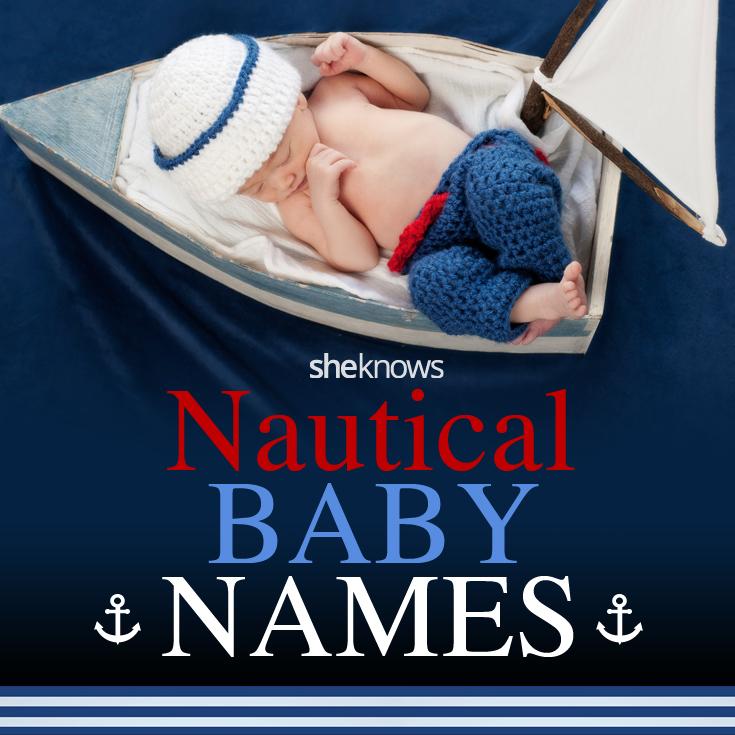 Nautical names for babies