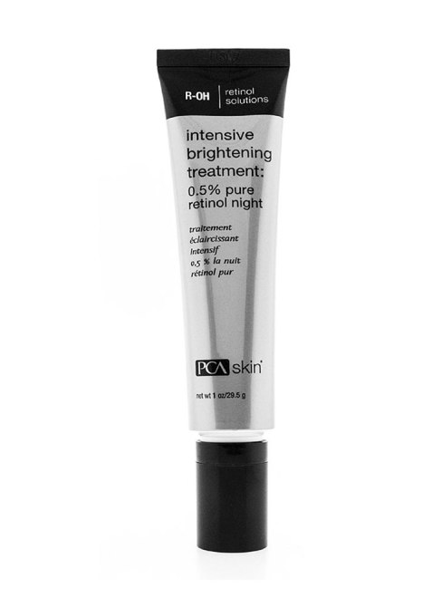 skin care Ingredients That Work Together: PCA Skin Intensive Brightening Treatment 0.5% Pure Retinol Night