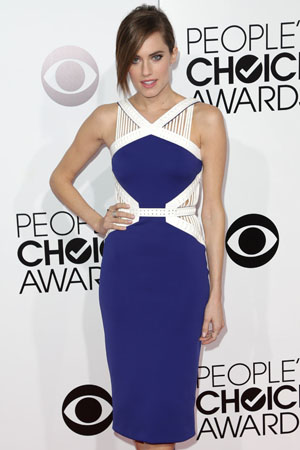 Allison Wiliams at the 2014 People's Choice Awards