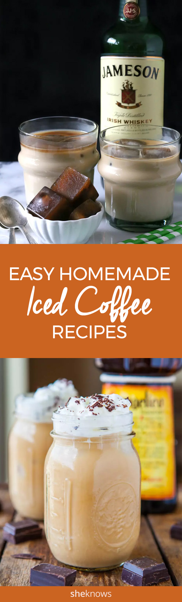 Pin it! Iced Coffee recipes