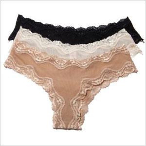 Affinitas packaged panties