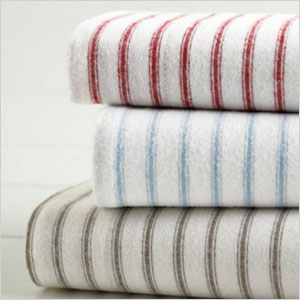 Paintbrush flannel sheets