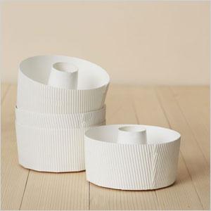 Paper bakeware Bundt pan