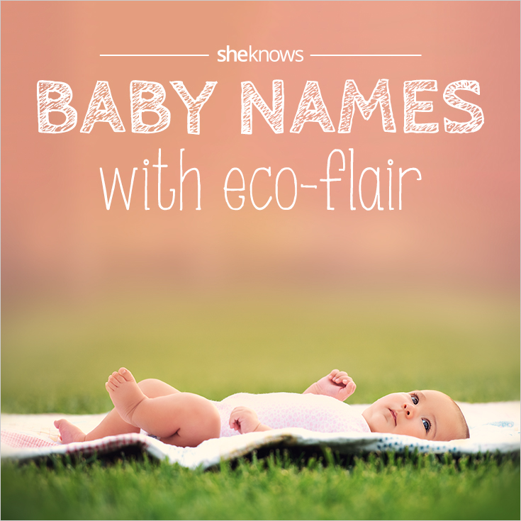 Eco-friendly baby names