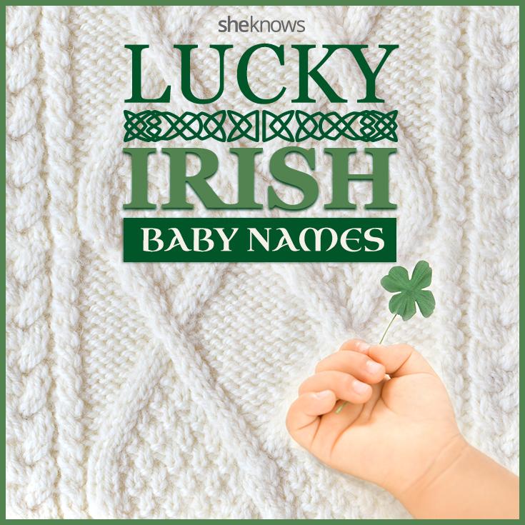 Lucky Irish baby names