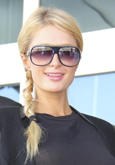 Paris Hilton's side braid