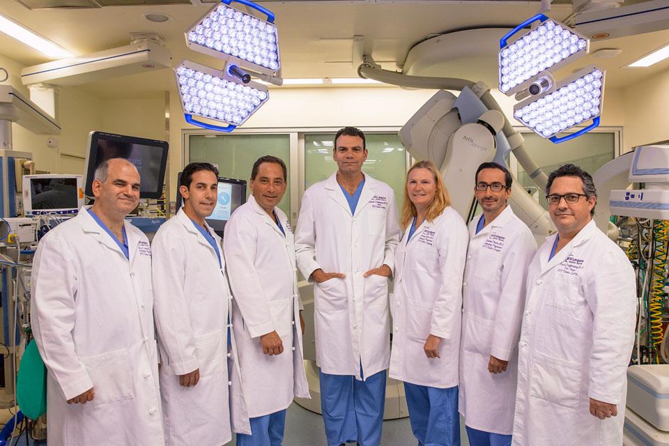 Alexes Hazen surgical team