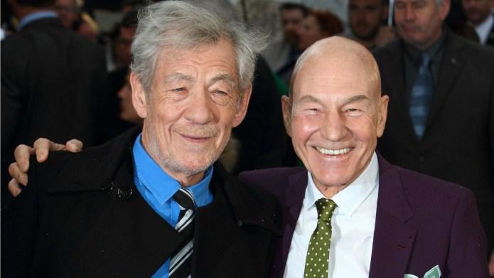 Patrick Stewart, Ian McKellen seal their
