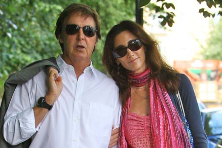 Paul McCartney and Nancy Shevell are engaged!