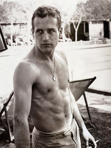 Paul Newman in the early days