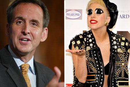 Tim Pawlenty loves Lady Gaga