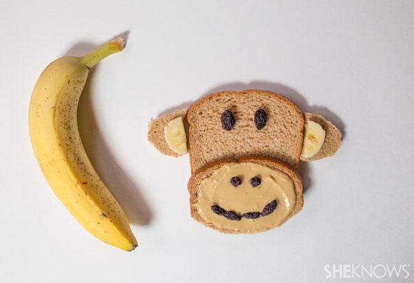 Peanut Butter Sandwich Monkey