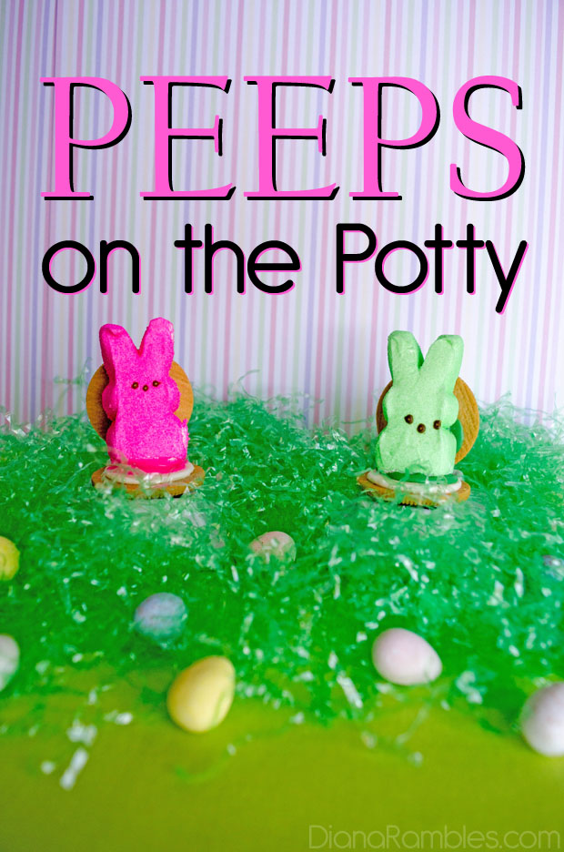 peeps on the potty