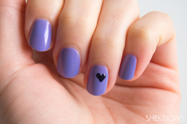 Nail art tip: How to create the perfect heart - Nail Art Tip: How To Create The Perfect Heart – SheKnows