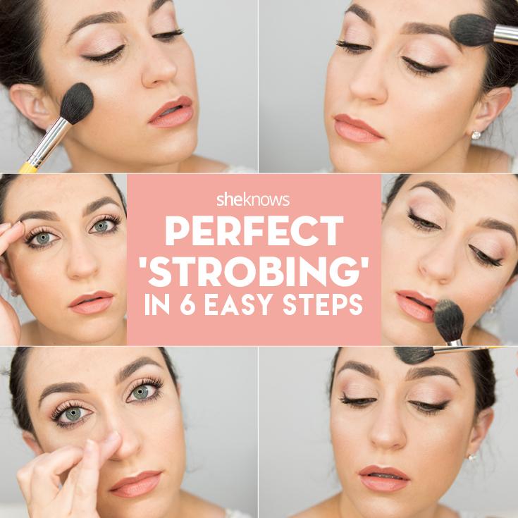 Strobing tutorial pinterest
