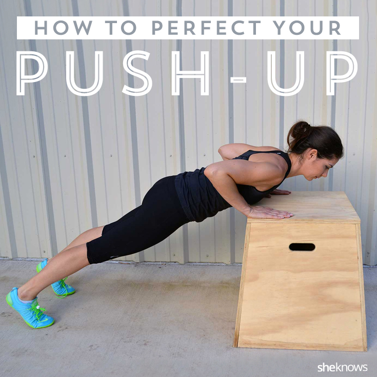 Perfect your push-up for Pinterest