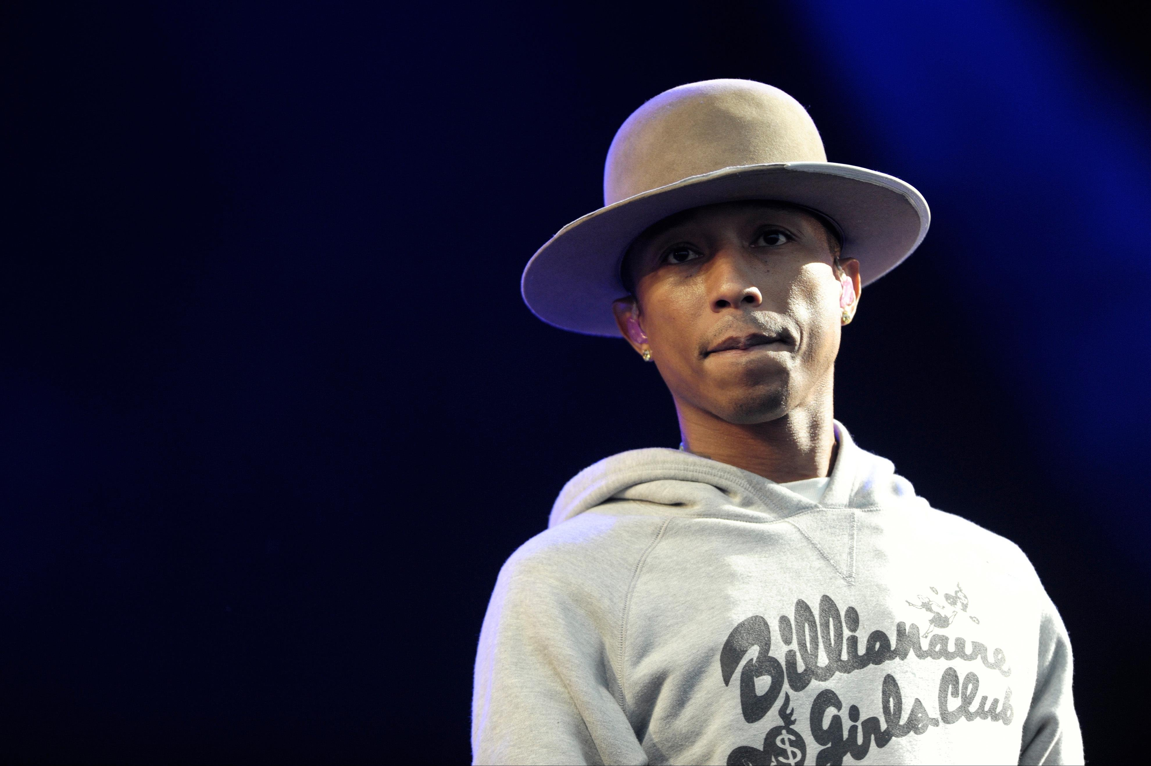 """Pharrell debuts new video for his song """"Come Get It Bae"""""""