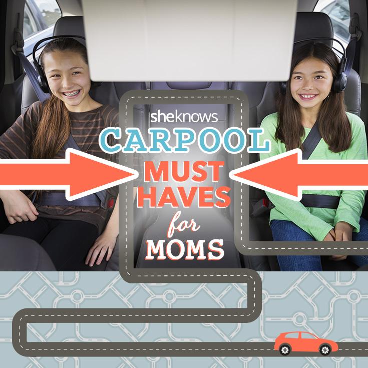 Sanity-saving car pool must haves