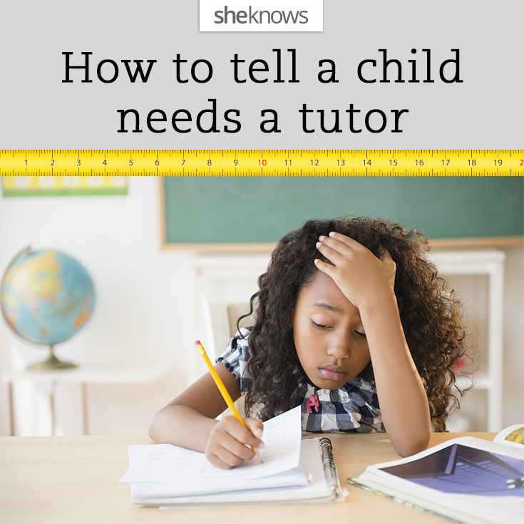 7 Signs your child needs a tutor