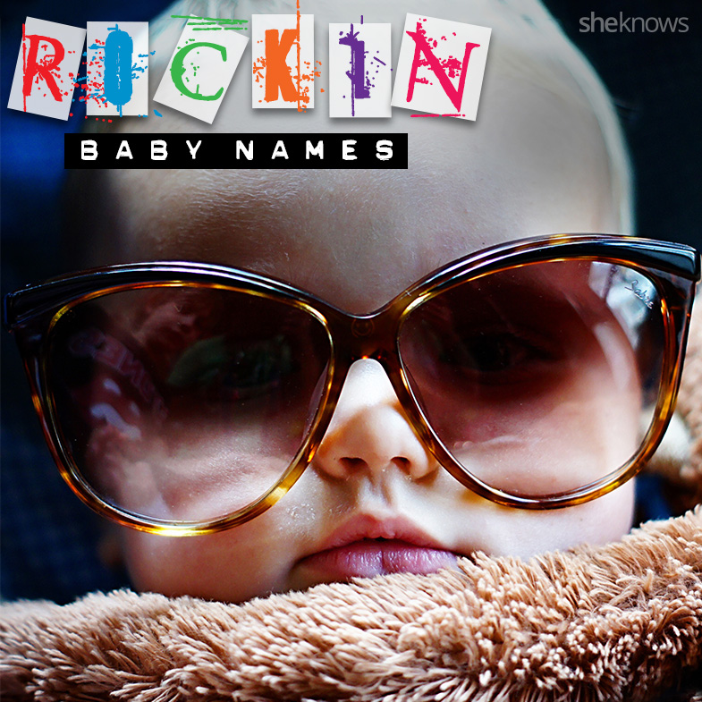 Surfer and rock star baby boy names