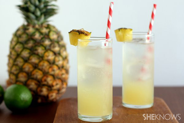 Pineapple Lime Cooler