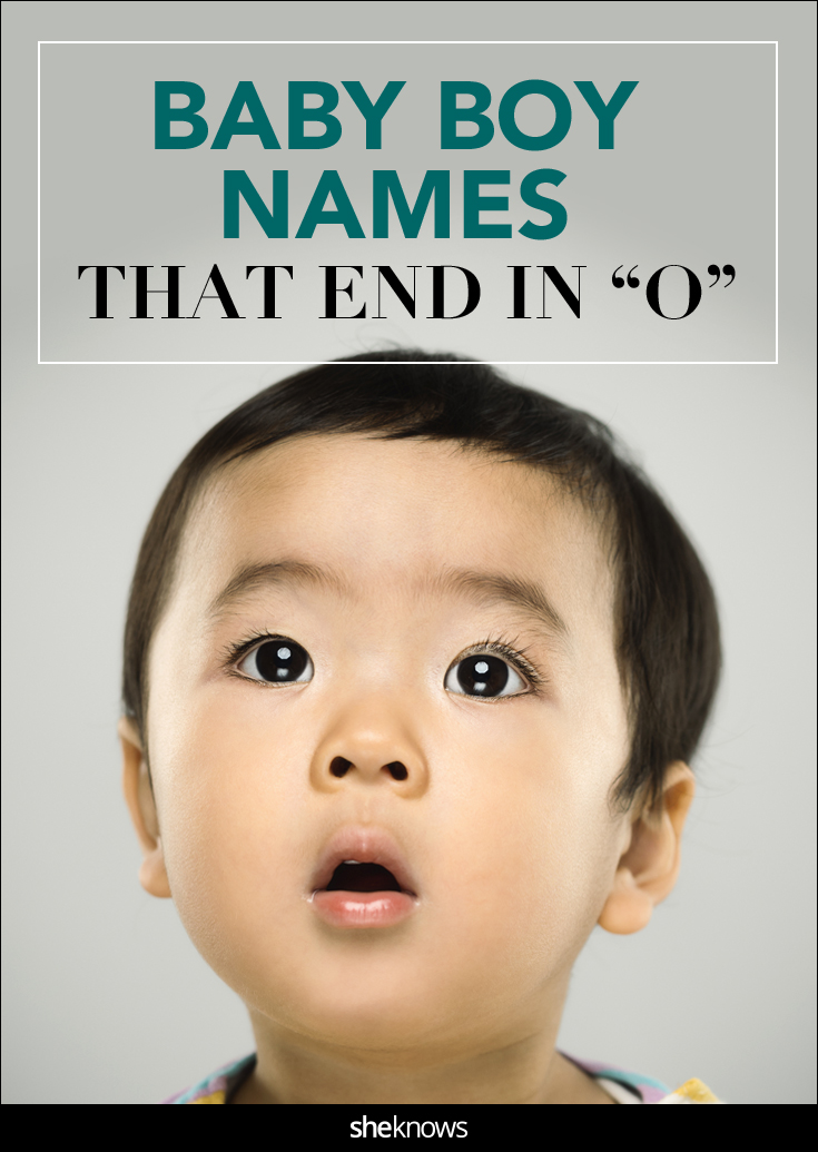baby names that end in o