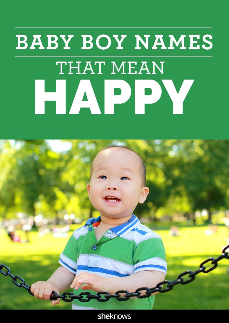 happy baby boy names