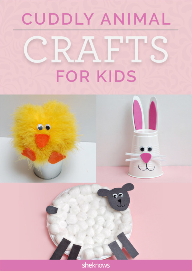 Cuddly animal crafts