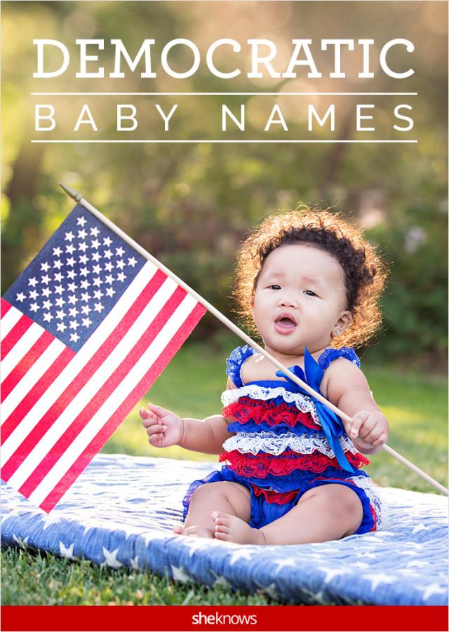 Democratic baby names