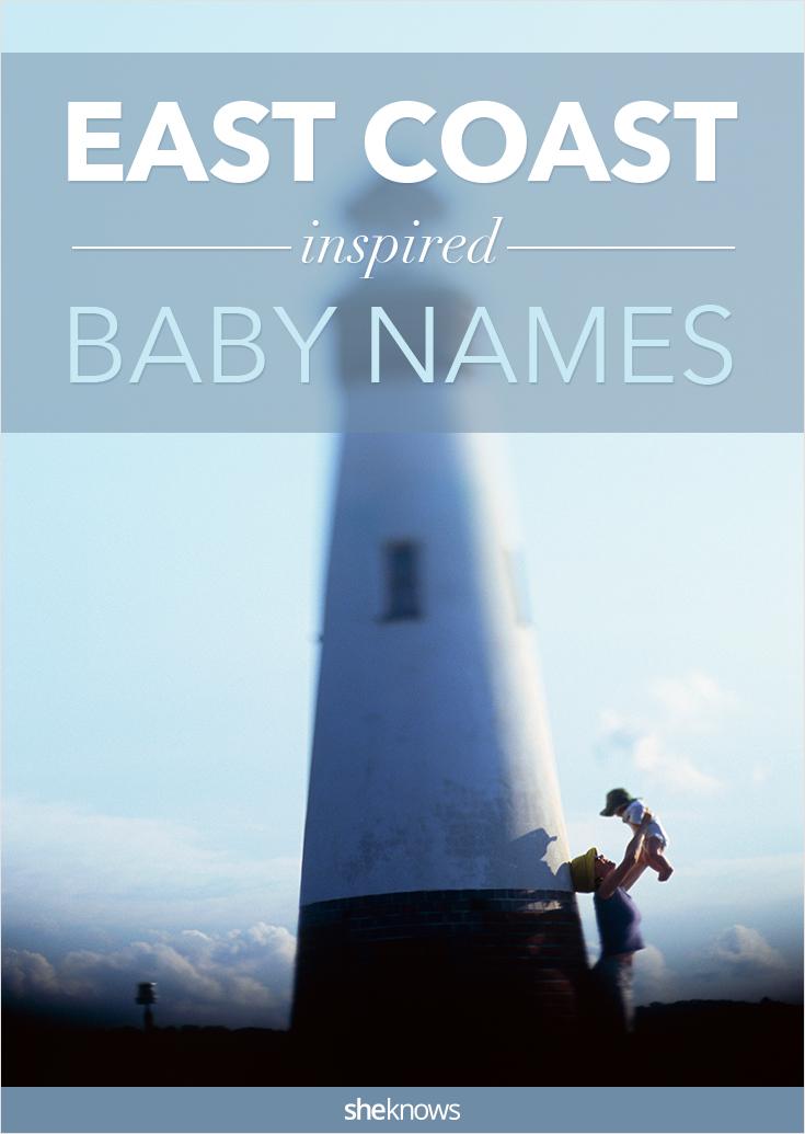 east coast baby names