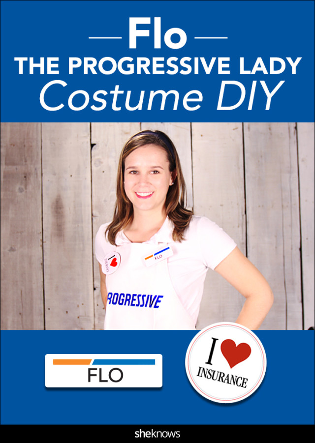 Progressive lady costume