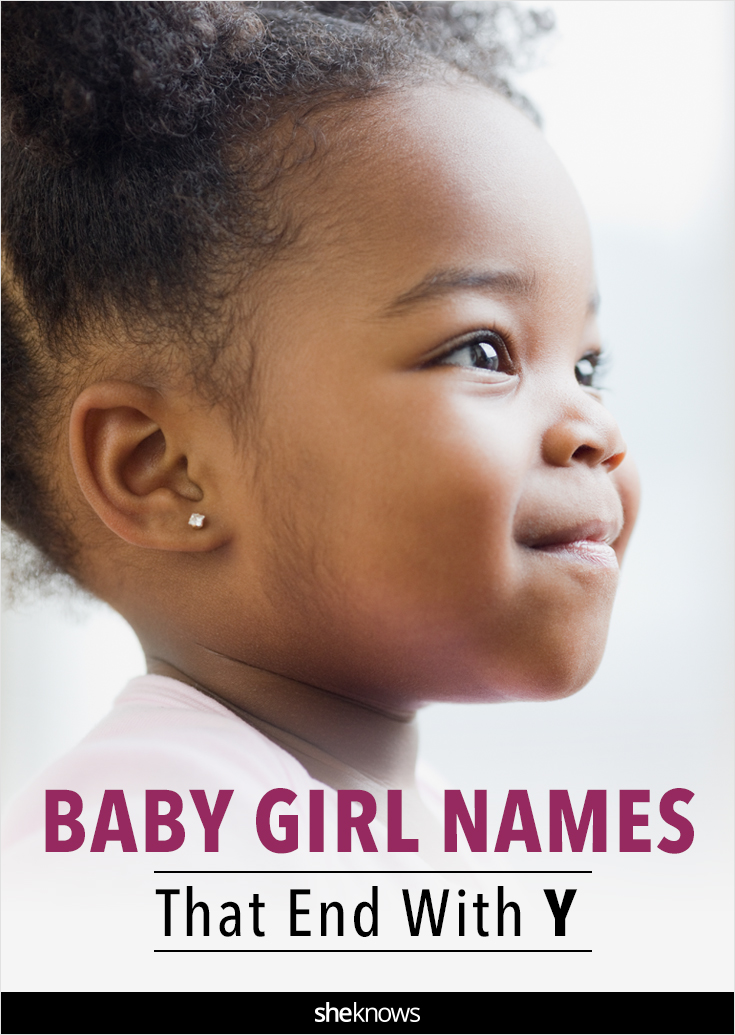 Yummy baby names for girls that end in Y – SheKnows