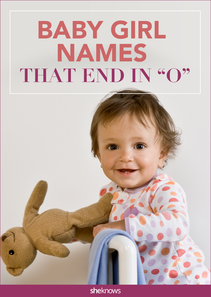 baby girl names that end in o