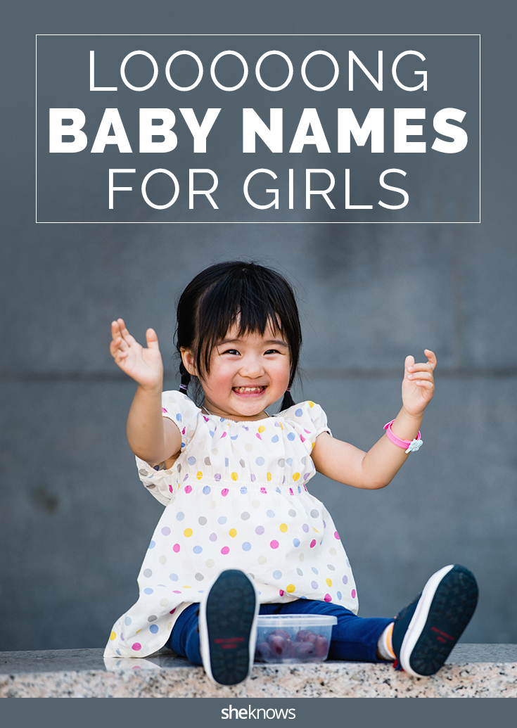 long baby names for girls