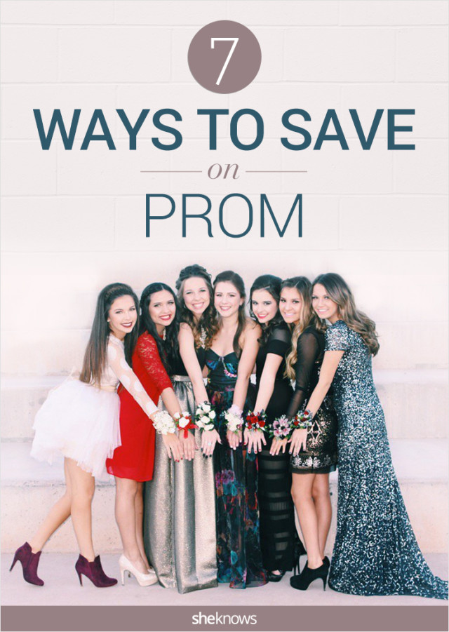 How to save on prom
