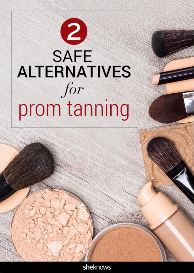 Prom tanning alternatives