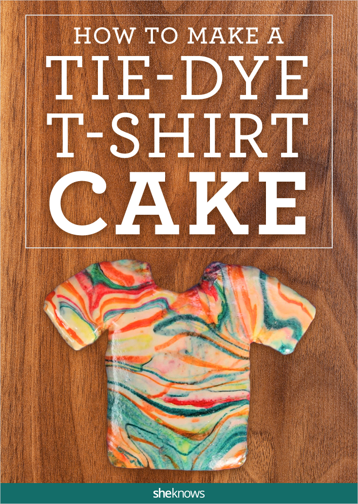 t-shirt cake