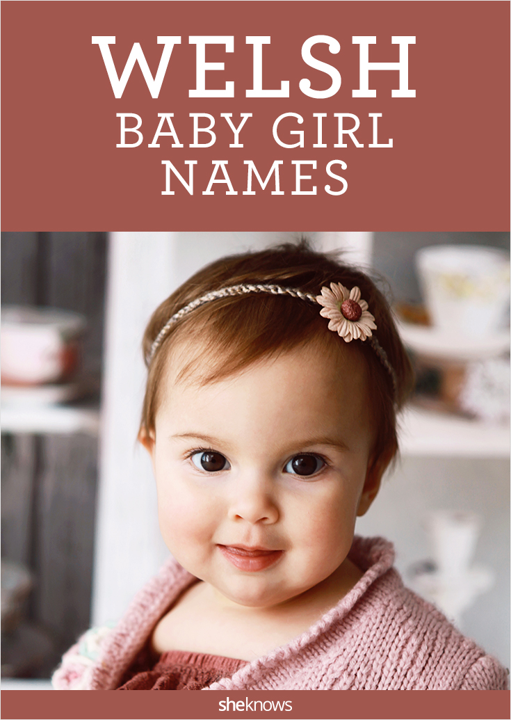 welsh girl names