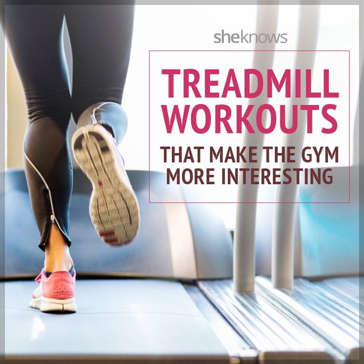 6 Ways to mix up your treadmill run so it's less boring